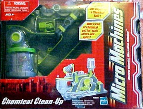 Micro Machines Basic Playset: Chemical Clean-Up     Hasbro  Micro Machine