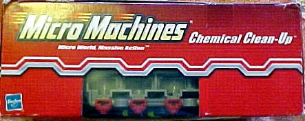 Micro Machines Basic Playset: Chemical Clean-Up     Hasbro  Micro Machine   image 2