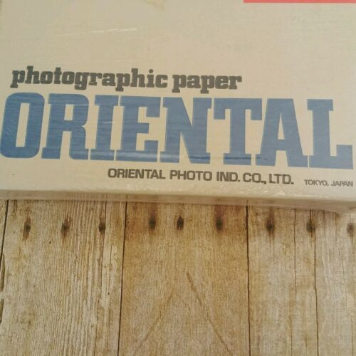 NEW Oriental Paper Bank Photographic Print Storage Box Seagull Darkroom Sealed image 2