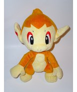 Pokemon Talking Chimchar Orange Fire Monkey Plush Stuffed Animal Jakks Pacific - $9.98