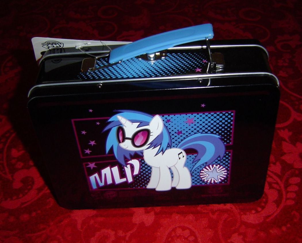 My Little Pony Brony Tin Box MLP DJ Pon 3
