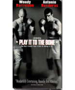 "ANTONIO BANDERAS ""PLAY IT TO THE BONES"" VHS - $2.95"