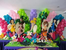 Tinkerbell and Friends 3 feet  Birthday party C... - $49.99