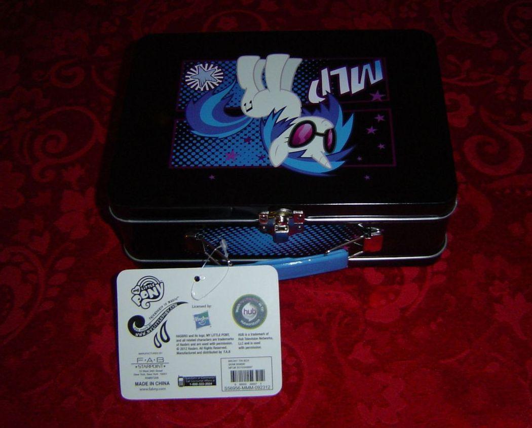 My Little Pony Brony Tin Box MLP DJ Pon 3 image 4