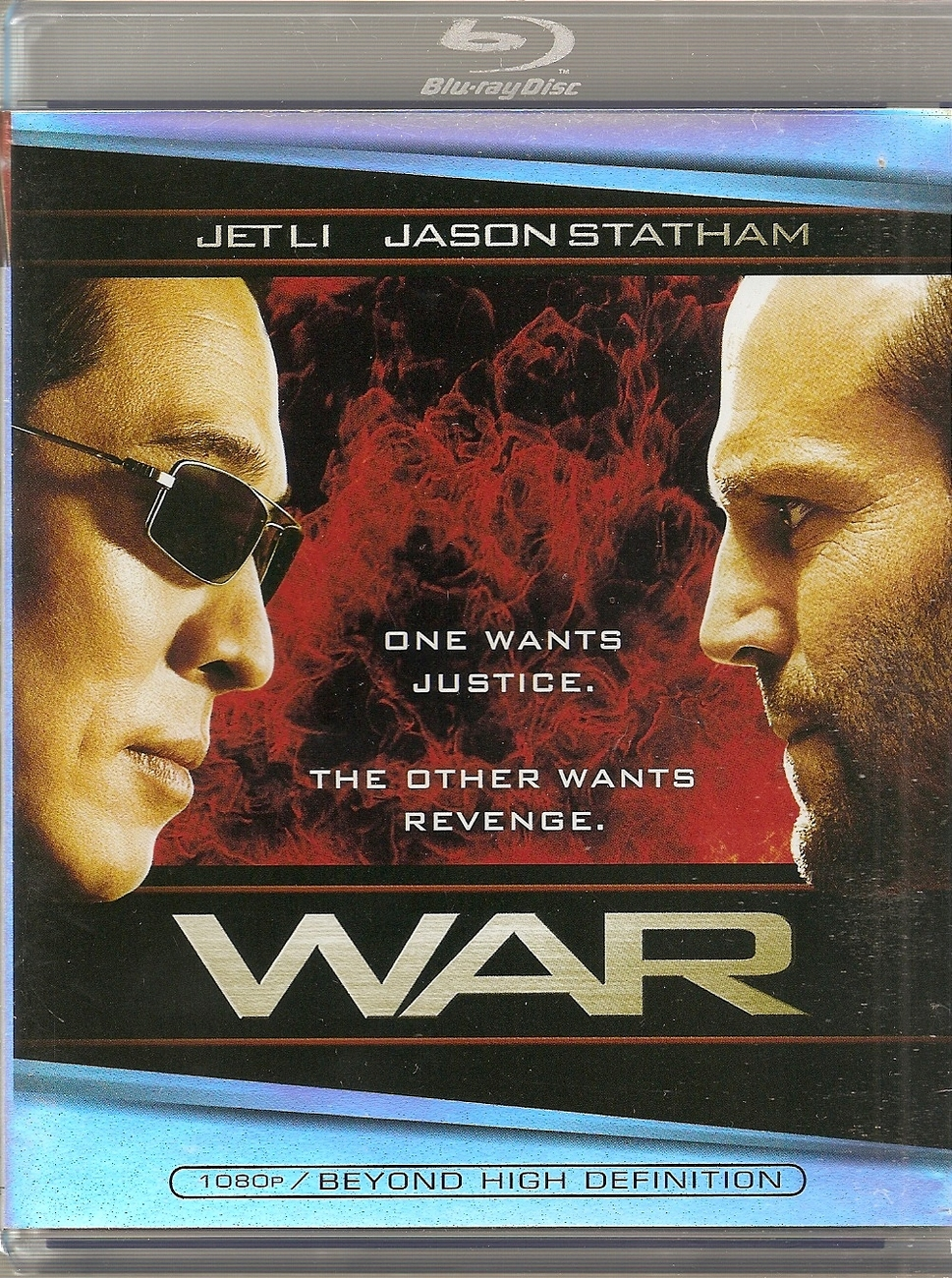War [Blu-ray] directed by Phillip Atwell featuring Jet Li, J