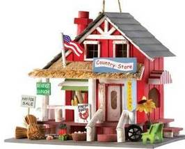 Country Store Birdhouse - $23.50