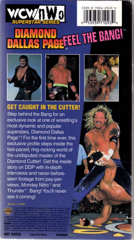 WCW/NWO Superstar Series DIAMOND DALLAS PAGE VHS