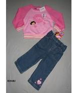 Dora the Explorer 2 pc Outfit  24 Mo. NWT - $14.99