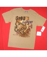 Sand Raiders Sz Youth Small Tee Shirt NWT - $8.99