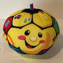 Fisher Price Laugh and Learn Soccer Ball Kick Learn Developmental Toy Nu... - $9.99