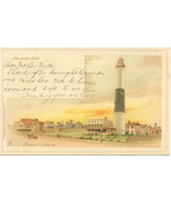 Absecon Lighthouse Atlantic City Tucks Private Mailing Card Vintage 1898 - $8.00