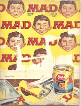 (CB-13) 1972 Mad Magazine #148 - MAD Paint cover - $19.00