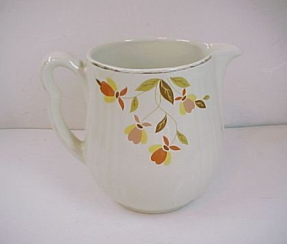 Hall China Autumn Leaf 2 1/2Pt Jewel Tea Utility Jug Pitcher