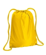 """NWOT Bright Yellow Liberty Bags 8882  17"""" x 20 Inches cinch duro chord d... - $5.00"""