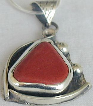 Blood stone pendant  pb