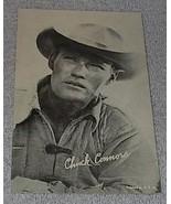 1960's Arcade Card, TV Rifleman Star Chuck Connors as Lucas McCain - $6.00