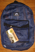 Blue Mesh Backpack by Trailmaker Equipment ~ NEW ~ - $22.00