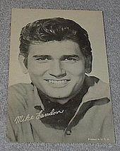1960's Arcade Card, TV Bonanza Star Mike Landon as Joe Cartwright - $7.00