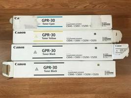 4 Canon GPR-30 CYKK For iR ADV C5045/C5051/C5250/C5255 Same Day Shipping!!! - $232.65