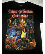 Trans Siberian Orchestra Winter Tour Tshirt 2014/2015  Black Size Small  - $9.85