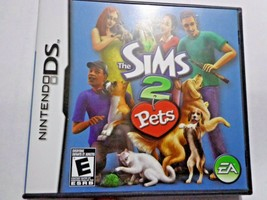 Sims 2 Pets (Nintendo DS, 2004)  Box with booklet no game - $3.80
