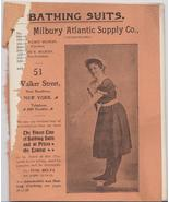 1890's Swim Suit catalog 42 Pages Milbury Atlan... - $49.00