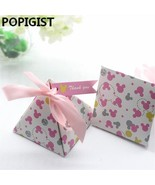 POPIGIST® 30pcs/lot Creative Minnie Double-sided Print Floral Baby Showe... - $26.17
