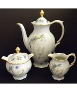 Vintage Bareuther Waldsassen Bavaria Eunny Jayne Tea Set Teapot Creamer ... - $59.95