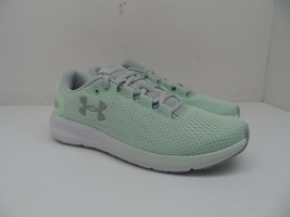 UNDER ARMOUR Women's Charged Pursuit 2 Running Shoes Aqua Foam/Halo Gray 6.5M - $66.49