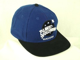 Planet Hollywood Vancouver Blue & Black Baseball Cap Hat Box Shipped - $3.99