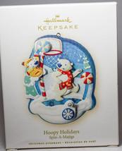 Hallmark - Hoopy Holidays - Spin-A-Majigs - 2008 Keepsake Ornament - $8.61
