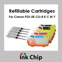 Refillable Ink Cartridges for Canon MP800 MP810 MP830 MX850 - $19.80