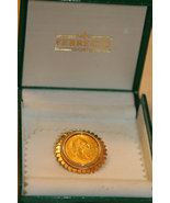 Austrian 4 Florins 10 Francs Gold Coin set in handcrafted 18K Solid Gold... - $900.00