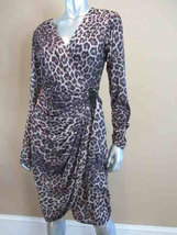 Leopard Wrap Susan Roselli Dress image 1