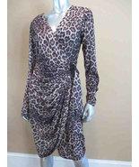 Leopard Wrap Susan Roselli Dress - $47.00