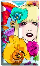 Lady Gaga Pop Art Single Light Switch Cover Wall Plate - $9.99