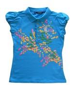 Girls Size XL (16) Blue Top - $8.99