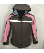 Mountain Hardwear Jacket Conduit Primaloft Coat Ski Brown Pink Insulated... - $79.99