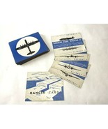 Vintage SPOT A PLANE WWII Board Game Silhouette Cards Replacement Deck 4... - $19.79