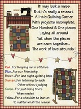 Quilting Friends M&M candy topper poem treat bag set - ₨50.84 INR