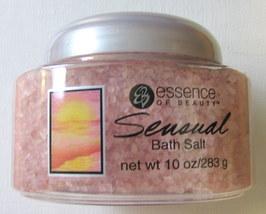 Essence of Beauty Sensual Bath Salt 10oz. Pink Color Crystal - $2.25