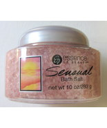 Essence of Beauty Sensual Bath Salt 10oz. Pink Color Crystal - $2.50