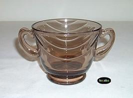 Fostoria Horizon Sugar Bowl Cinnamon Color - $12.50