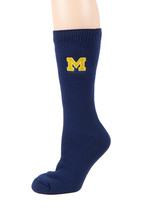 University of Michigan Licensed Blue Thermal Socks - $17.95