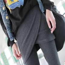Cross Hip Skirt  Leggings For Women - $15.60