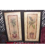 Home Interiors & Gifts Potted Tropicals Framed Prints (retired) - $35.00