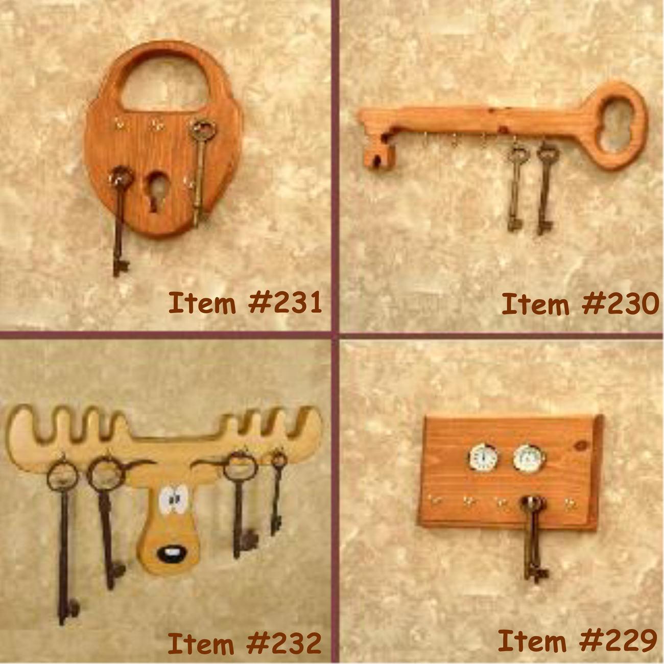Key Racks - Letter Holder