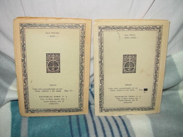 Clasicos Ebro  Zaragoza  LA VIDA ES SUENO,LOS SUENOS  Vols 13, 43, 84,  89-90