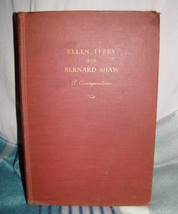 1931 Ellen Terry And Bernard Shaw  A Correspondence - $115.00