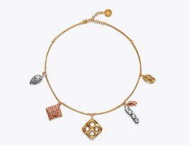 Authentic Tory Burch Snack Charm Necklace! NEW - $87.12